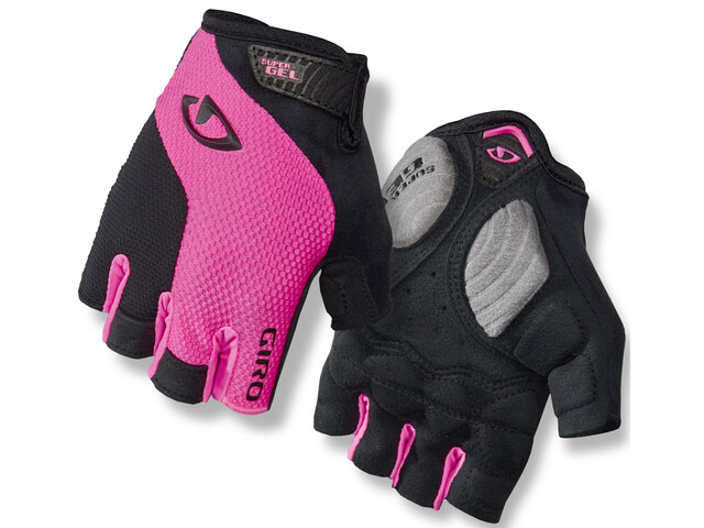 Giro Strada Massa Gel Gloves Women bright pink